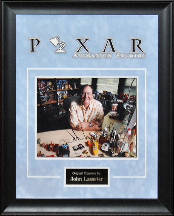 """Pixar"" - John Lasseter Signed 8x10 Photo"