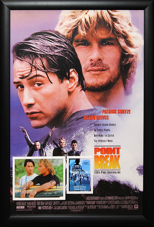 """Point Break"" Combo Signed Photo"