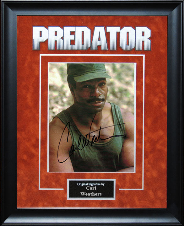 """Predator"" - Carl Weathers Signed 8x10 Photo"