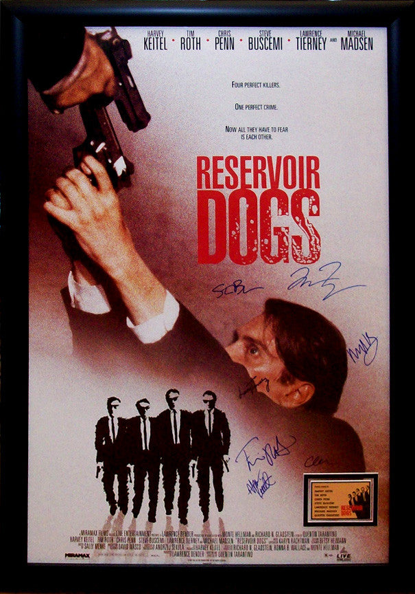 """Reservoir Dogs"" Signed Movie Poster"