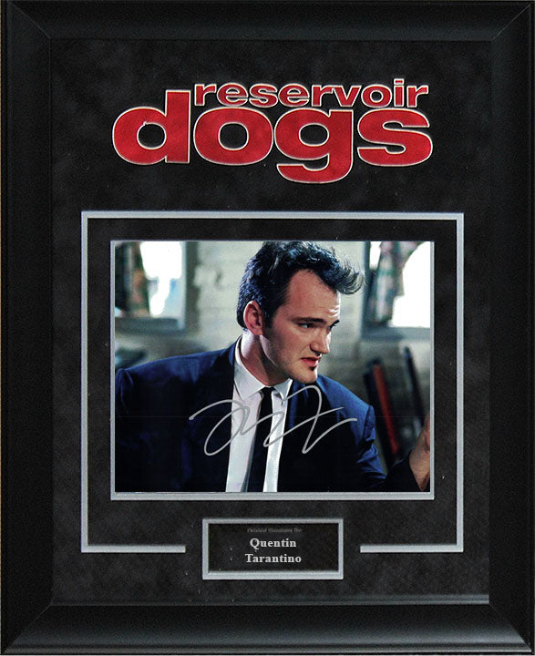 """Reservoir Dogs"" - Quentin Tarantino Signed 8x10 Photo"