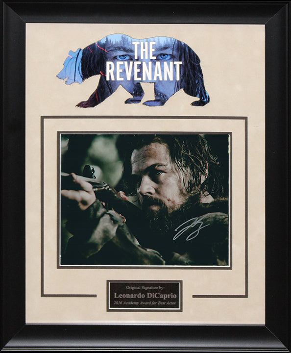 """Revenant"" - Leonardo DiCaprio Signed 8x10 Photo"