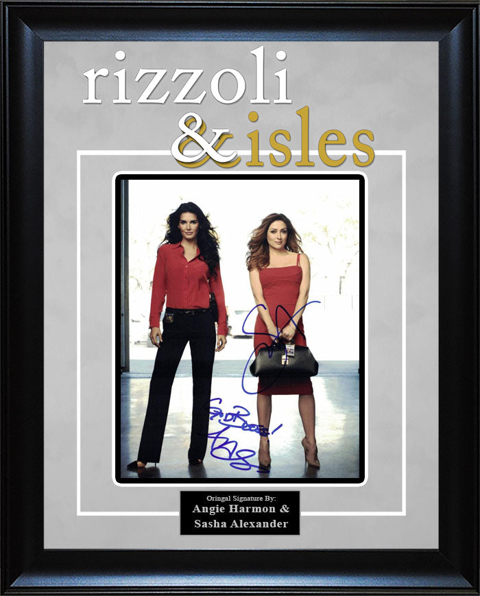 """Rizolli and Isles"" - Cast Signed 8x10 Photo"