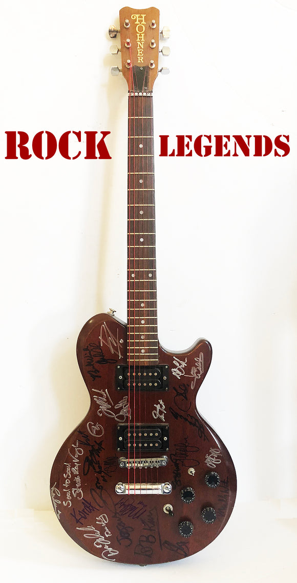 """Rock Legends"" DON'T MISS THIS GUITAR!"