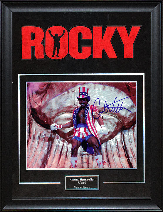 """Rocky"" - Carl Weathers Signed 8x10 Photo (Option 1)"