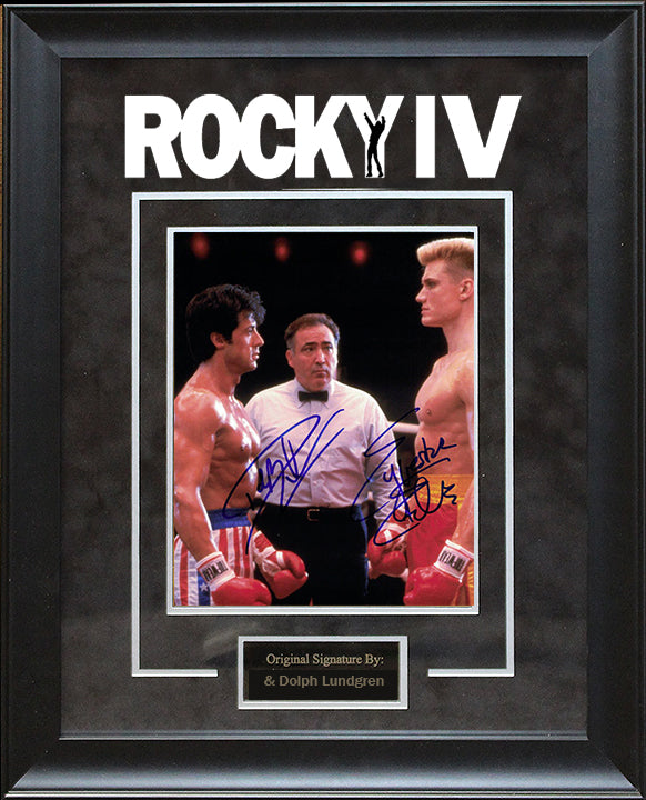 """Rocky IV"" - Cast Signed 8x10 Photo"