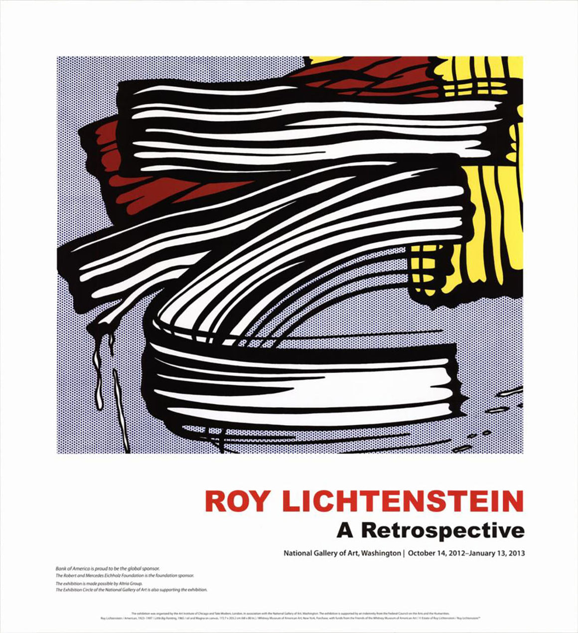Roy Lichtenstein - 'Little Big Painting'