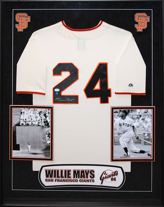 "San Francisco ""Giants"" - Willie Mays Signed Home Jersey"