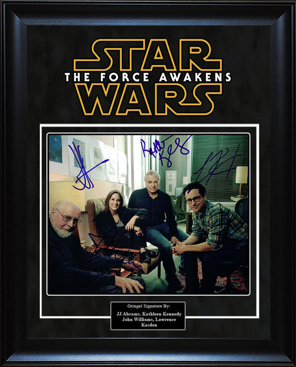 """Star Wars: Force Awakens"" - Production Crew Signed 8x10 Photo"