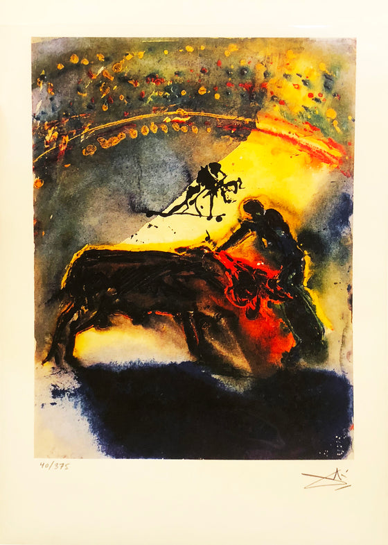 Salvador Dali - 'The Bullfight'