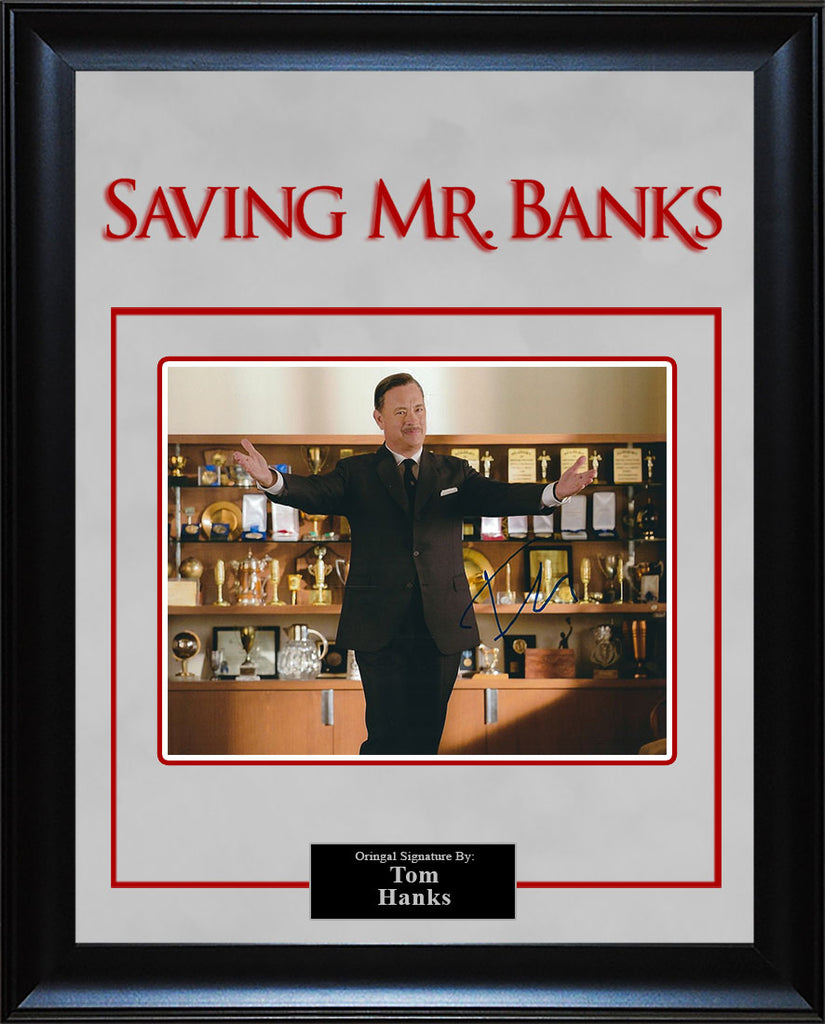 """Saving Mr. Banks"" - Tom Hanks Signed 8x10 photo"