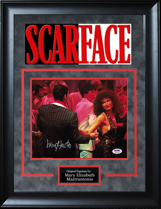 """Scarface"" - Mary Elizabeth Mastrantonio Signed 8x10 Photo"