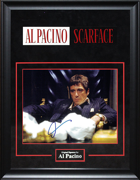 """Scarface"" - Al Pacino Signed 8x10 Photo (Option 2)"