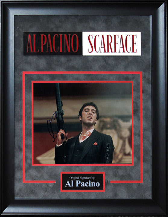 """Scarface"" - Al Pacino Signed 8x10 Photo (Option 1)"