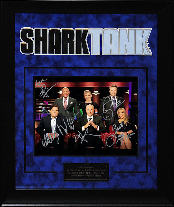 """Shark Tank"" - Cast Signed 8x10 Photo"
