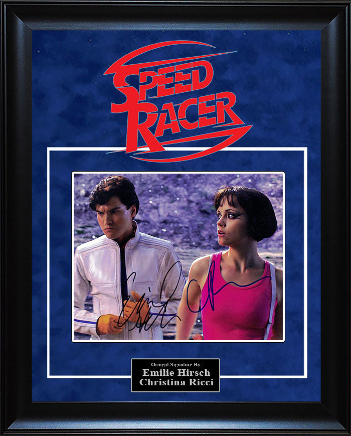 """Speed Racer"" - Cast Signed 8x10 Photo"