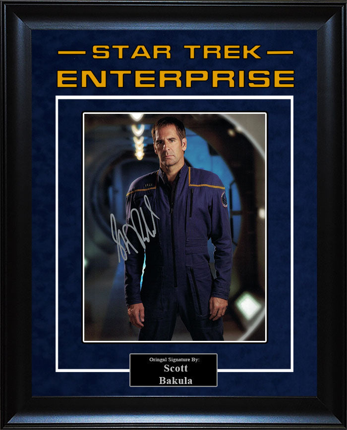 """Star Trek: Enterprise"" - Scott Bakula Signed 8x10 Photo"