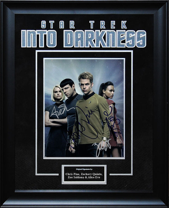"""Star Trek: Into the Darkness"" - Cast Signed 8x10 Photo"