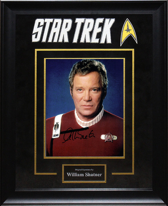 """Star Trek"" - William Shatner Signed 8x10 Photo"