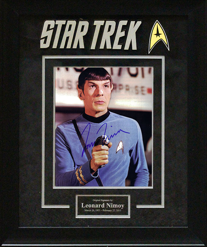 """Star Trek"" - Leonard Nimoy Signed 8x10 Photo"
