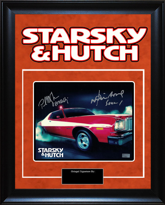 """Starsky and Hutch"" - David Soul and Paul Michael Glaser Signed 8x10 Photo"
