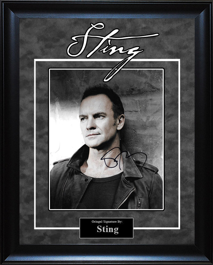 Sting - Signed 8x10 Photo