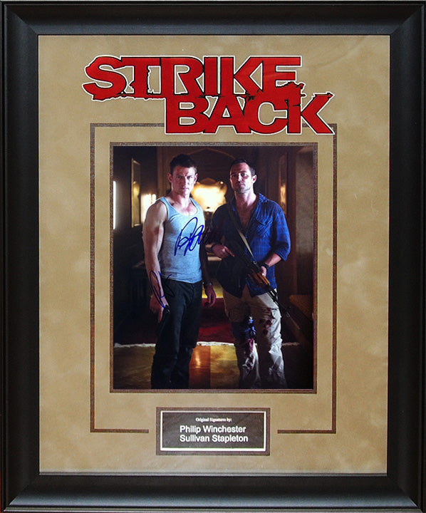 """Strike Back"" - Cast Signed 8x10 Photo"