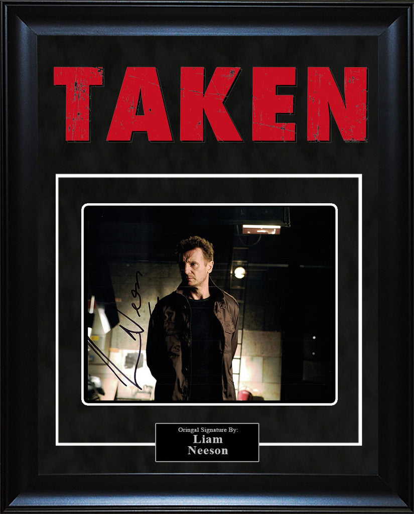"""Taken"" - Liam Neeson Signed 8x10 Photo"