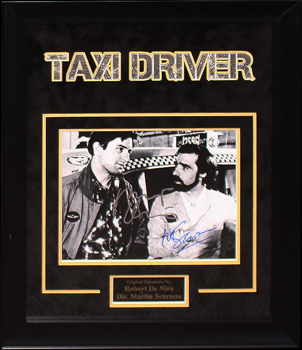 """Taxi Driver"" - Cast Signed 8x10 Photo"