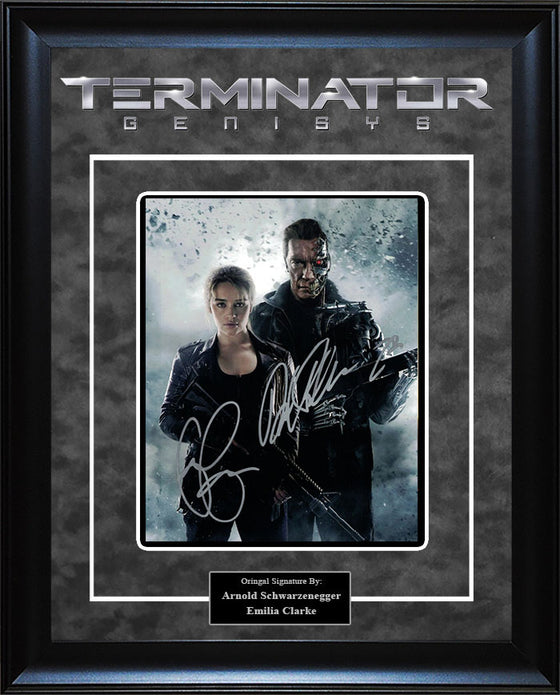 """Terminator: Genisys"" - Cast Signed 8x10 Photo"