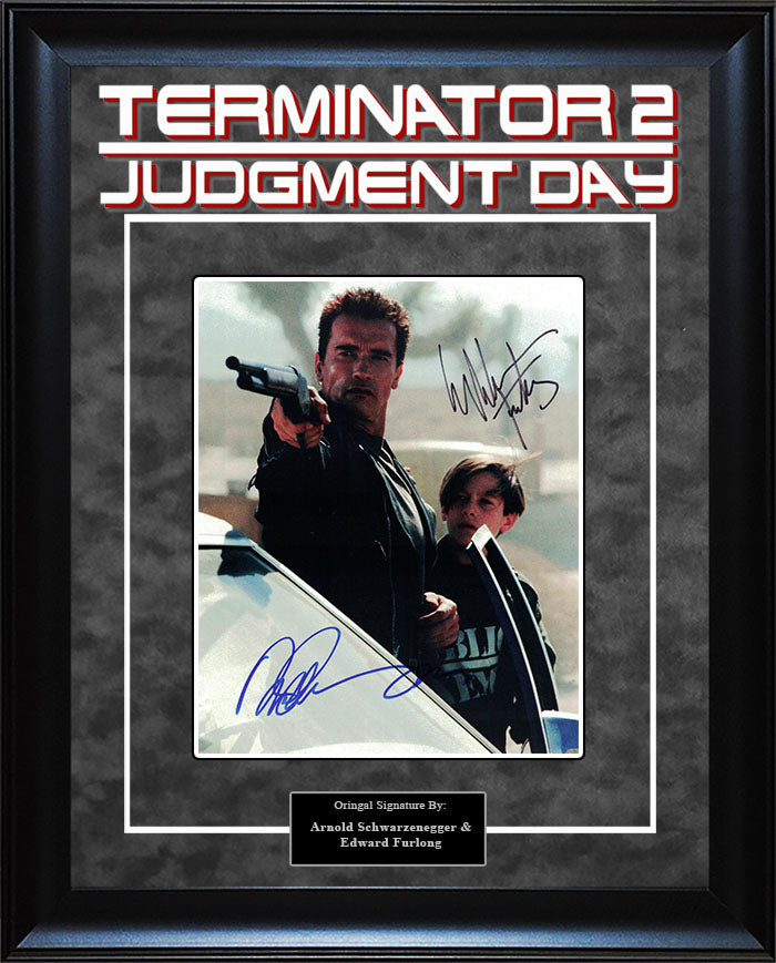"""Terminator: Judgement Day"" - Cast Signed 8x10 Photo"