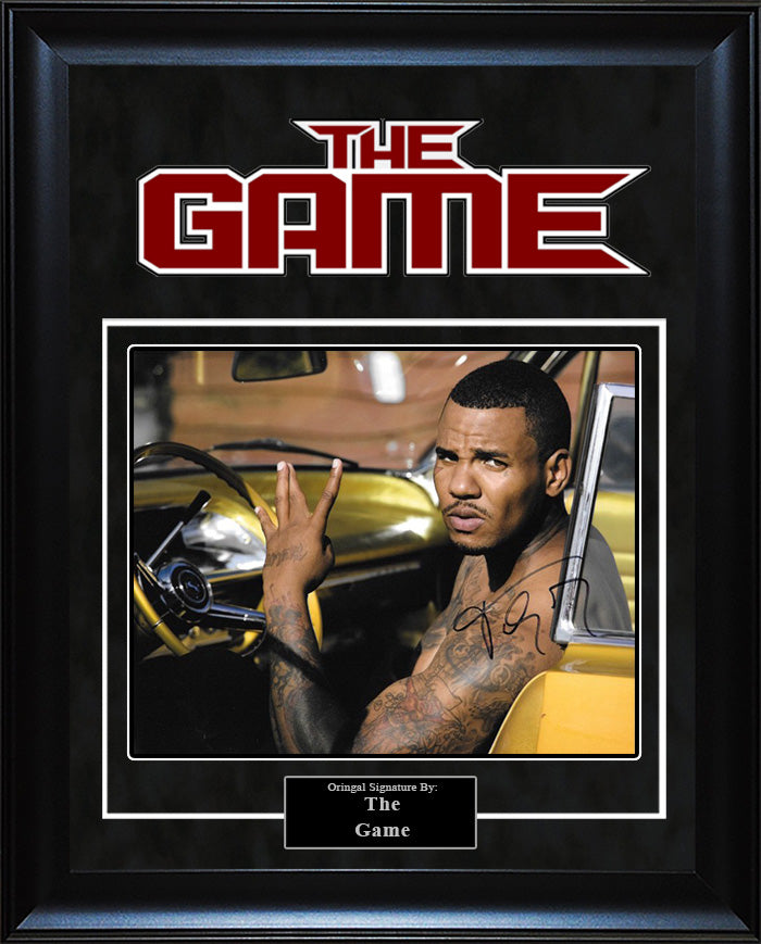 The Game - Signed 8x10 Photo