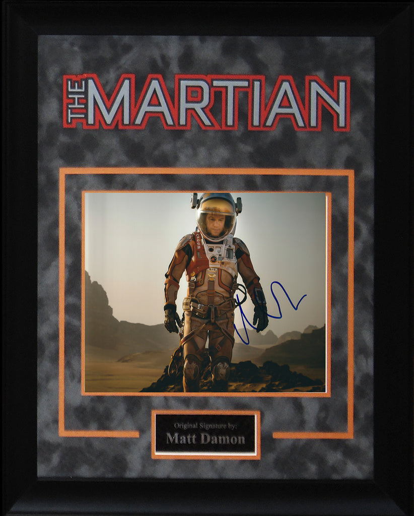 """The Martian"" - Matt Damon Signed 8x10 Photo"