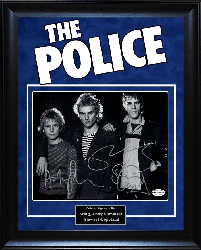 """The Police"" - Signed 8x10 Photo"