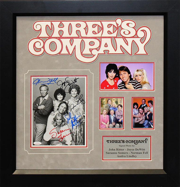 """Three's Company"" Rare Original Cast Photo"