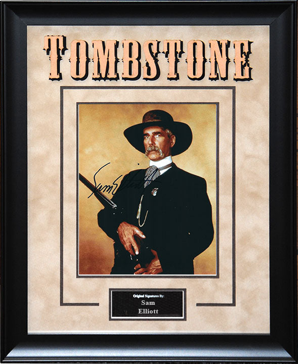 """Tombstone"" - Sam Elliott Signed 8x10 Photo"