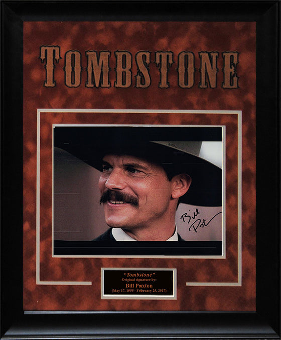 """Tombstone"" - Bill Paxton Signed 8x10 Photo"
