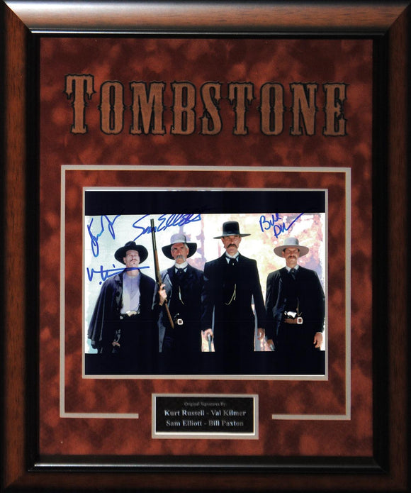 """Tombstone"" - Cast Signed 8x10 Photo"