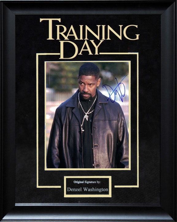 """Training Day"" - Denzel Washington Signed 8x10 Photo"