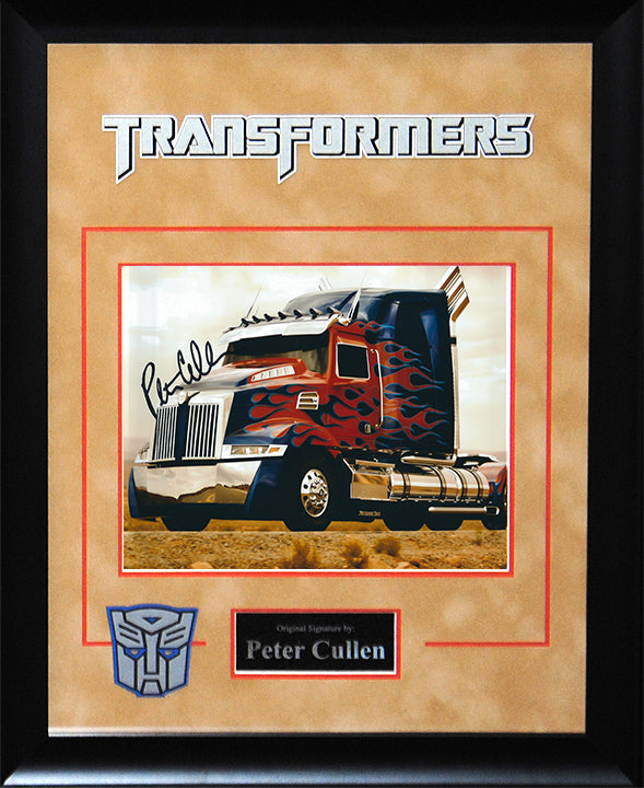 """Transformers"" -Peter Cullen Signed 8x10 Photo"