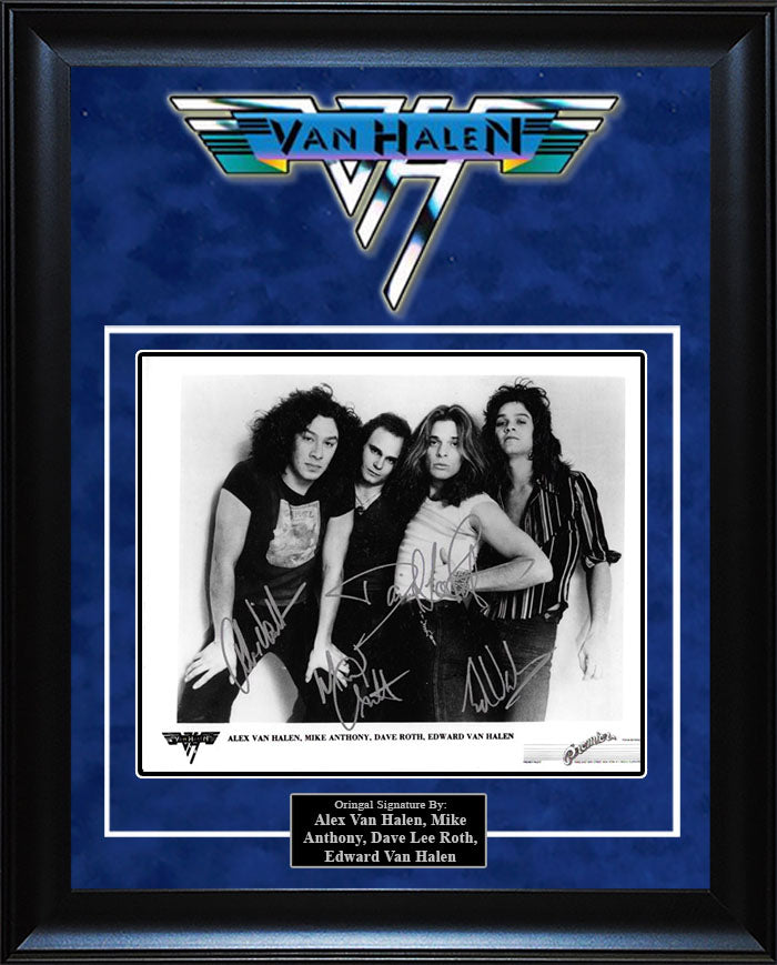 """Van Halen"" - Signed 8x10 Photo"