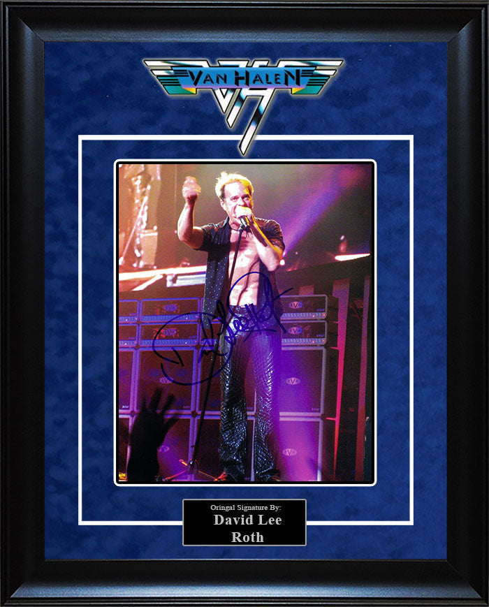 """Van Halen"" - David Lee Roth Signed 8x10 Photo"
