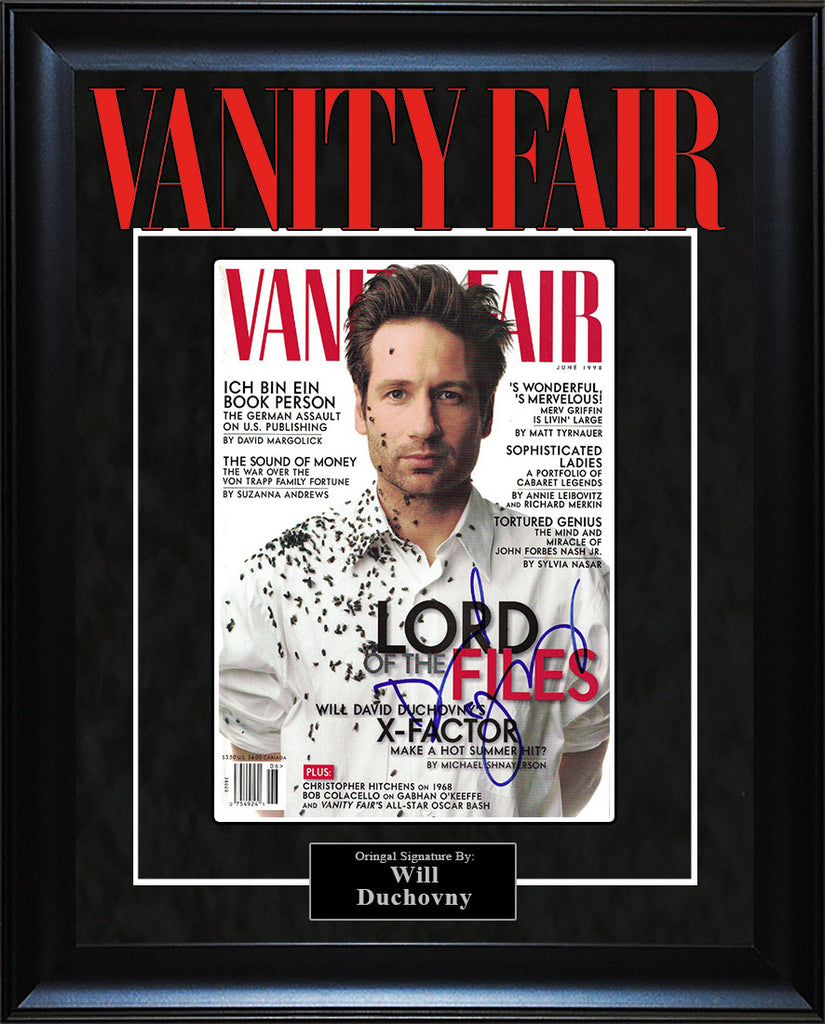 """Vanity Fair"" - Will Duchovny Signed Magazine"
