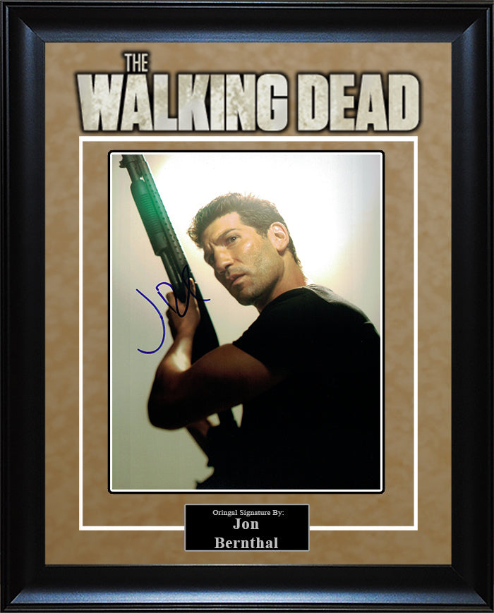 """The Walking Dead"" - Jon Bernthal Signed 8x10 Photo"