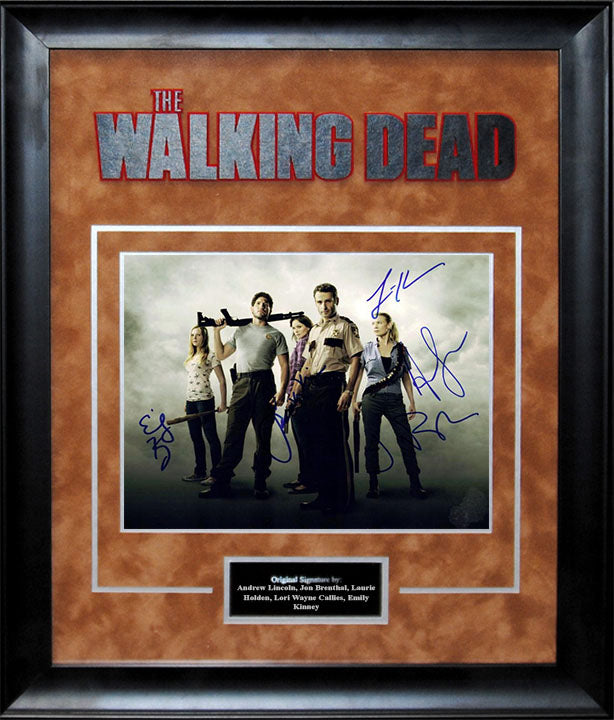 """The Walking Dead"" - Cast Signed 8x10 Photo"