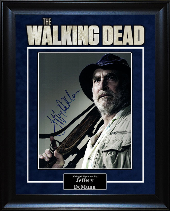 """The Walking Dead"" - Jeffery DeMunn Signed 8x10 Photo"