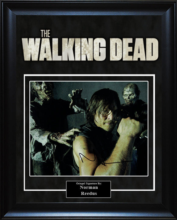 """The Walking Dead"" - Norman Reedus Signed 8x10 Photo"