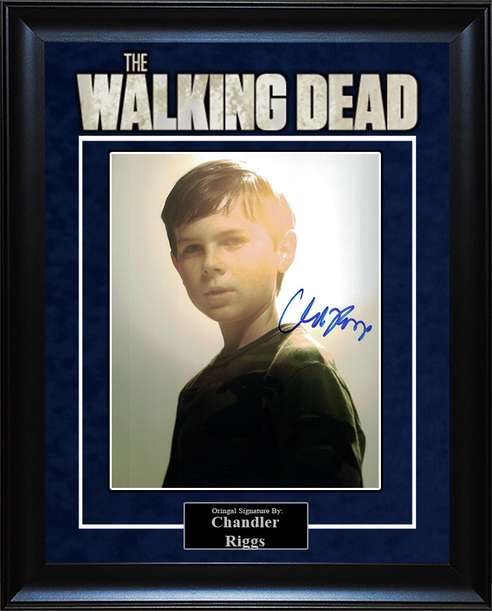 """The Walking Dead"" - Chandler Riggs Signed 8x10 Photo"