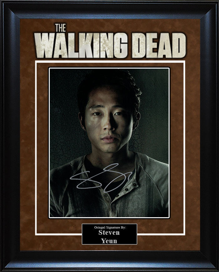 """The Walking Dead"" - Steven Yeun Signed 8x10 Photo"