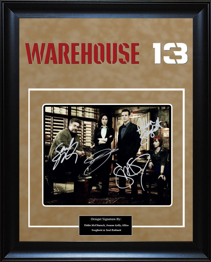 """Warehouse 13"" - Cast Signed 8x10 Photo"